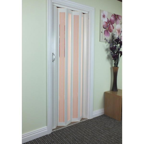 The New Generation Concertina Marley Folding Door White