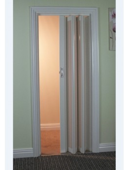 The New Generation Concertina Marley Folding Door - White