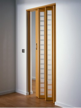 Internal Folding Concertina Door