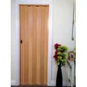 The Eurostar Folding Door - Beech Wood Effect