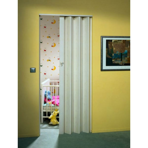 The Eurostar Folding Door - White Ash
