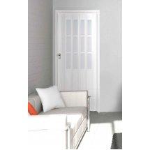 The President Single Door - White Glass Effect