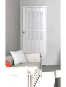 The President Single Door - White Glass Effect