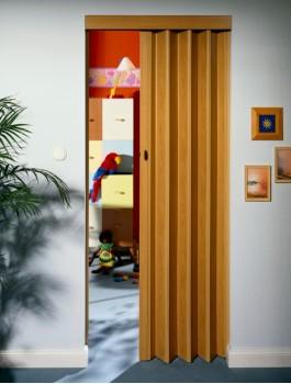 Rapid Folding Door 880mm  Wood Effect