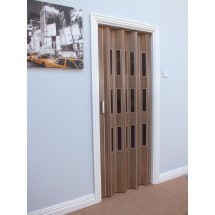 The Tango Folding Door 850mm Nutmeg