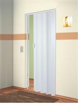The Plaza - Up To 88cm Single Folding Door White Ash